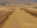 LT Earth Movers building roads in Loteni 3