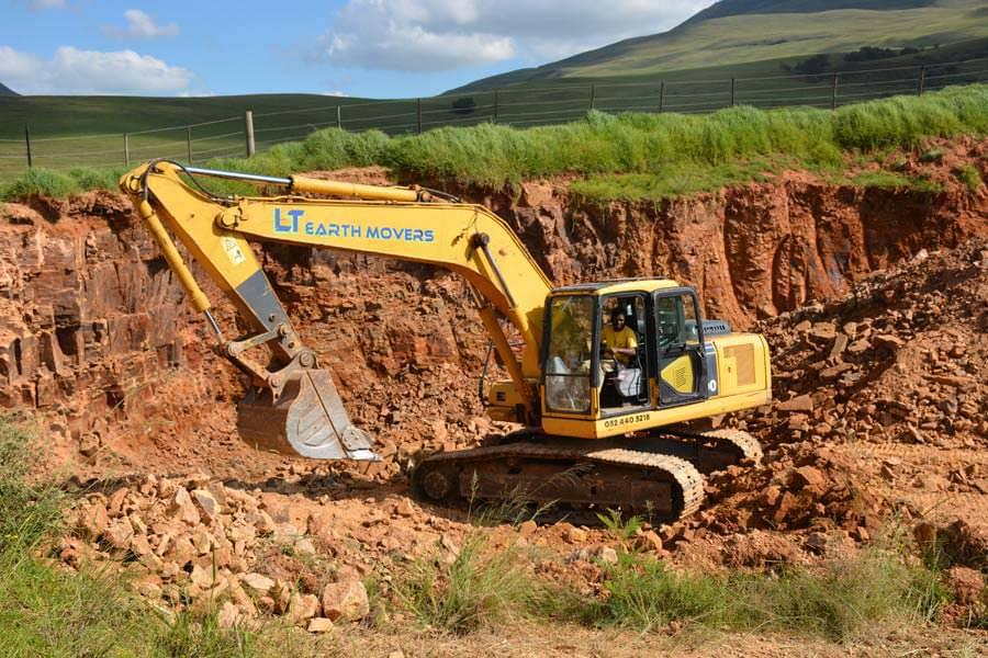 Excavator for hire in south africa