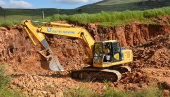 Excavator for hire