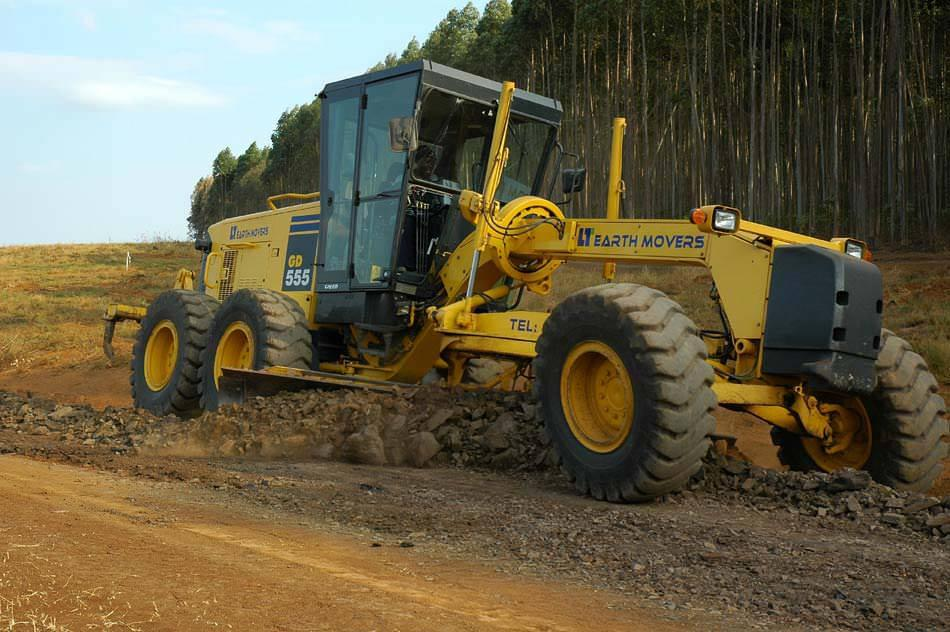 Earth moving equipment Grader for hire South Africa