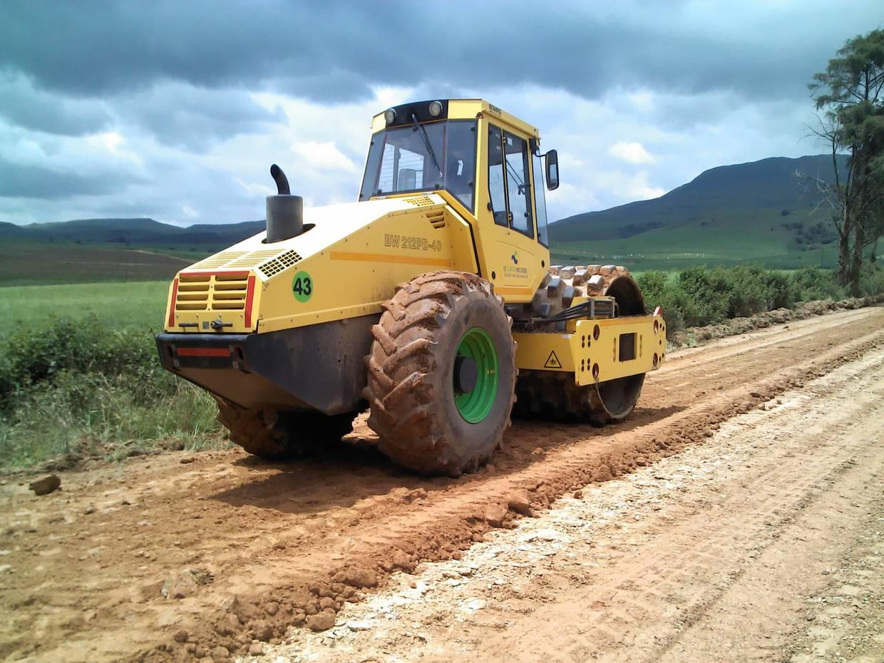 Earth moving equipment for hire South Africa Roller for hire